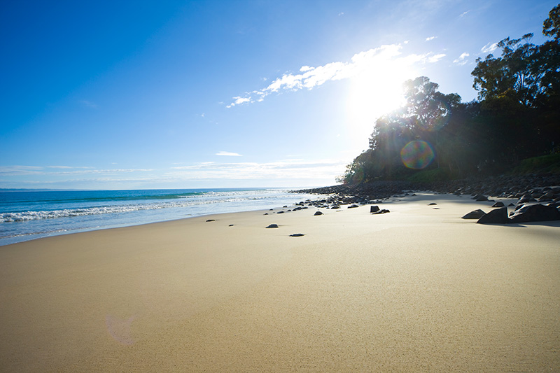 Sunrise at Noosa National Park