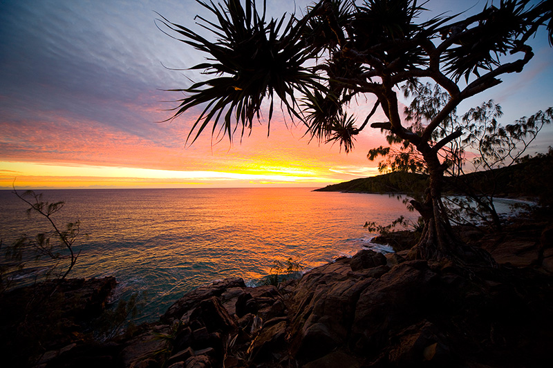 Sunrise over Noosa